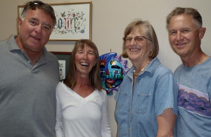L-R: Doug, Linda, Caroline, Alan