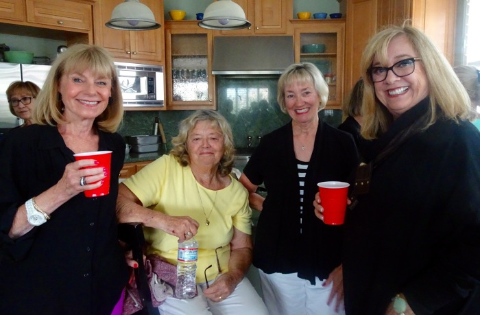 Mary Turner, Darlene Smudski, Linda Chaix, Carole Jennings