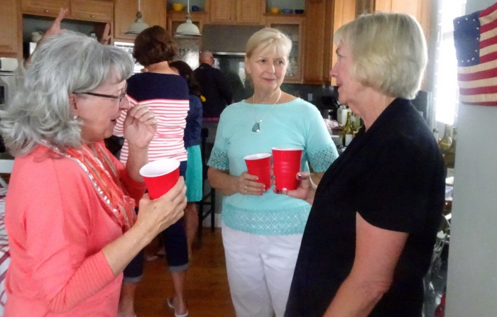Ann Brooks, Kathy Wymore, Linda Chaix
